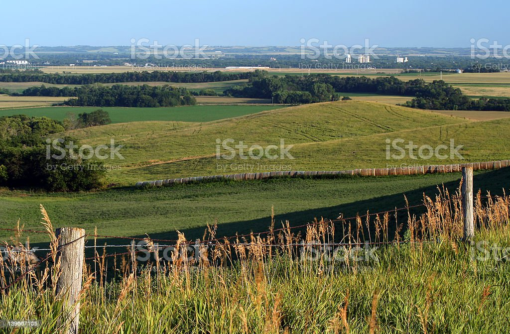 Nebraska Farmland royalty-free stock photo