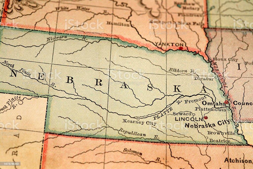 Nebraska stock photo