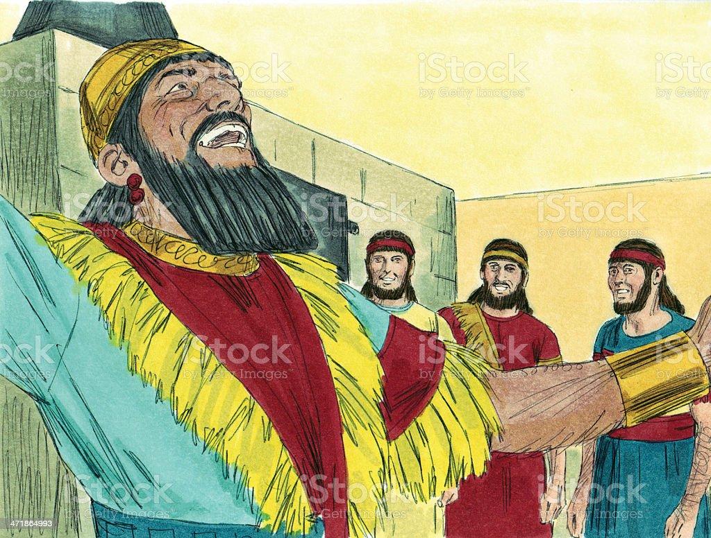 Nebuchadnezzar Praises God Stock Photo - Download Image Now - iStock