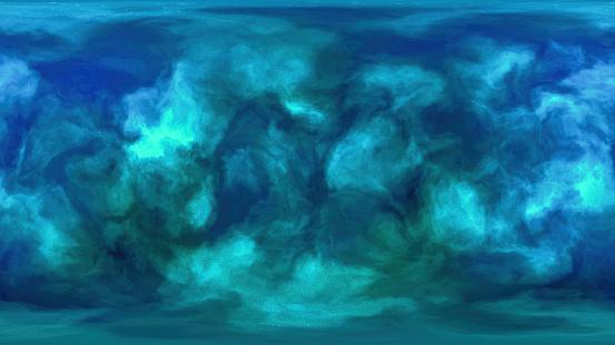 HDRI nebula background