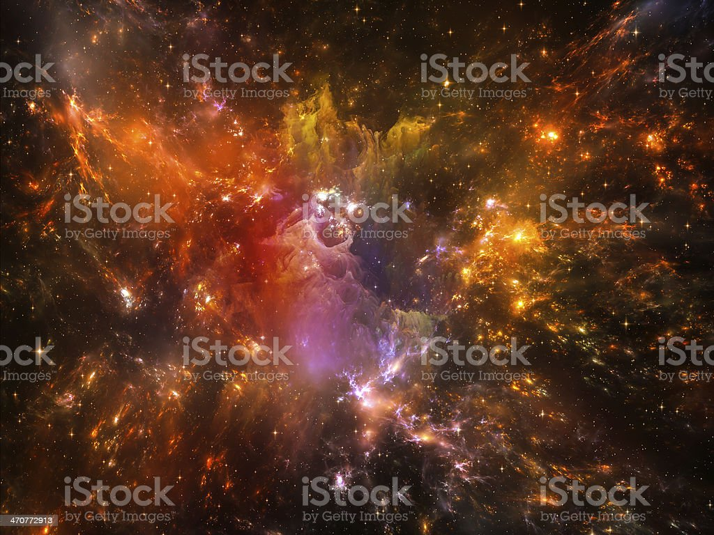 Nebula Colors royalty-free stock photo