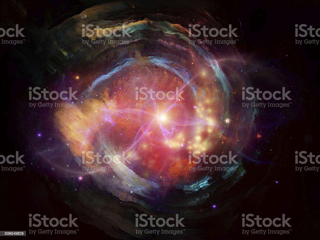 Nebula Design stock photo