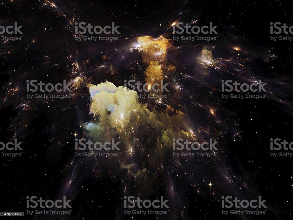 Nebula Dreams royalty-free stock photo