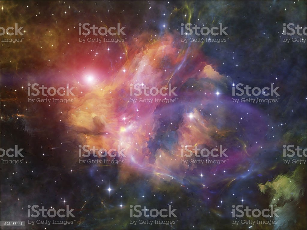Nebula Propagation stock photo