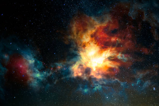 Nebula, science fiction background. Elements of this image furnished by NASA. Nebula, science fiction background. Elements of this image furnished by NASA.  /urls: https://images.nasa.gov/details-PIA14101.html https://www.nasa.gov/feature/jpl/wise/most-luminous-galaxy-is-ripping-itself-apart https://solarsystem.nasa.gov/resources/429/perseids-meteor-2016/ nebula stock pictures, royalty-free photos & images