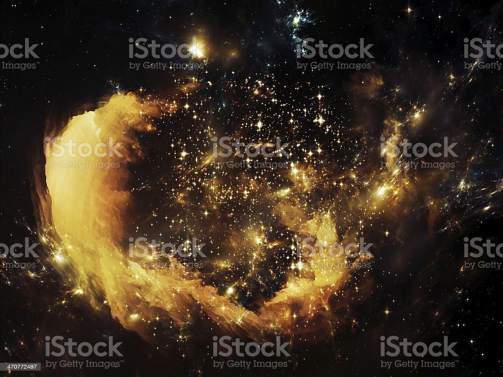 Nebula Vortex royalty-free stock photo