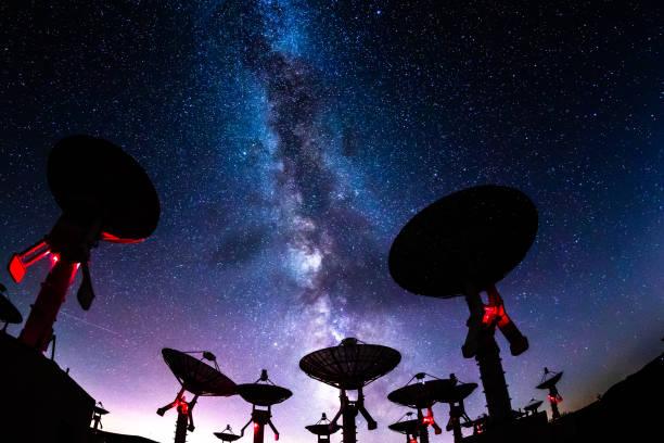 銀河星雲 - 観測所 ストックフォトと画像