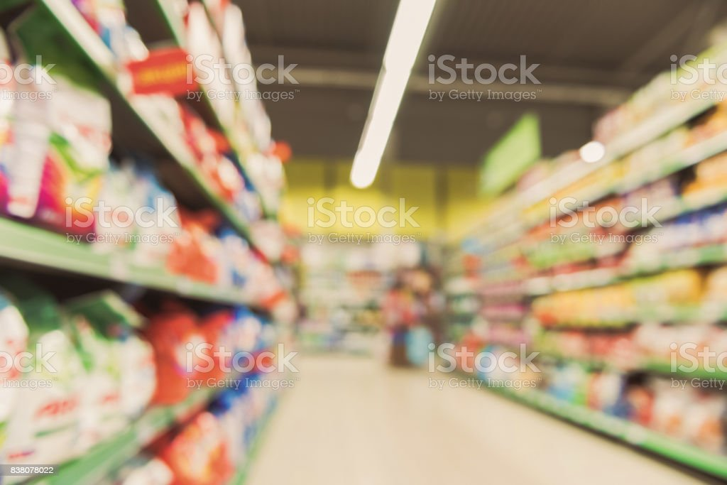 Choses nécessaires au supermarché moderne - Photo