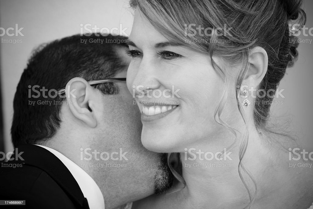 Neck Nuzzler stock photo