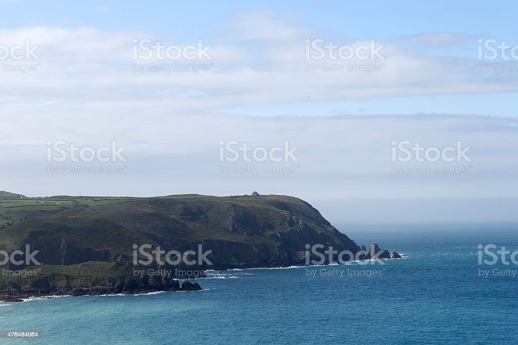 Neck of land royalty-free stock photo