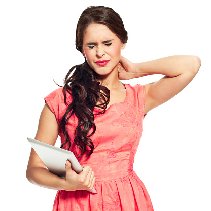 Neck Pain Stock Photo - Download Image Now