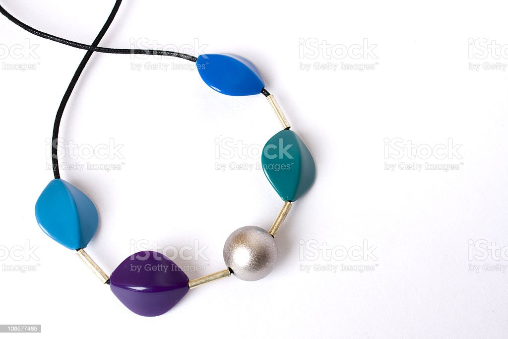 Necklace made of Stones royalty-free stock photo
