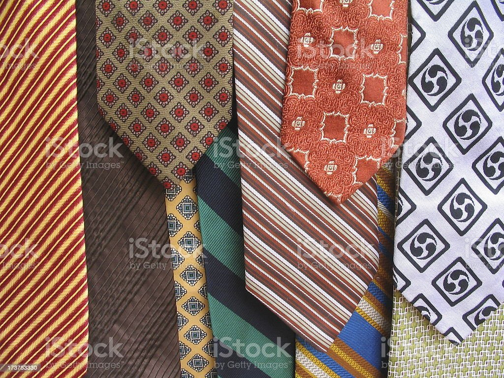 Necktie Selection 3 royalty-free stock photo