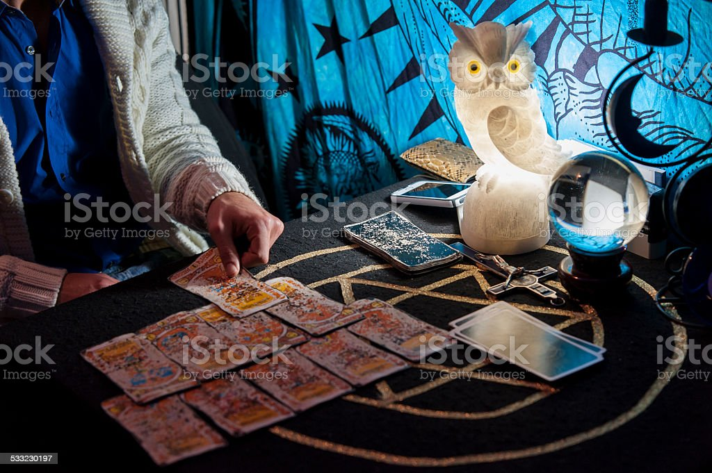 necromancer stock photo