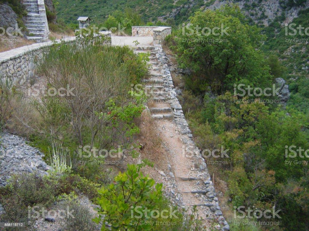 Necromanteion of Acheron Preveza Greece stock photo