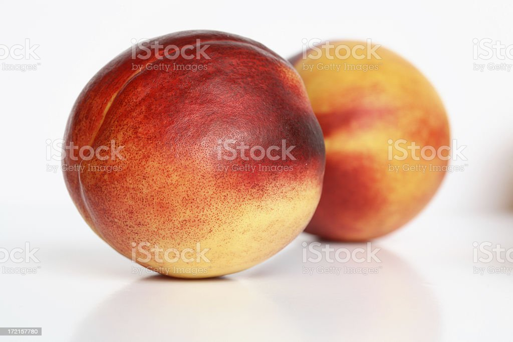 Nectarine 2 royalty-free stock photo
