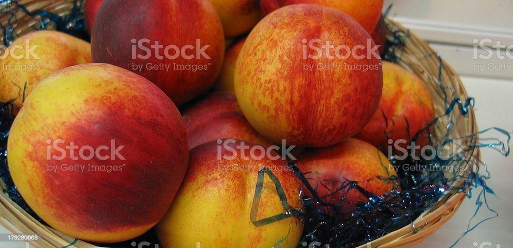 Nectarine Fairlane stock photo