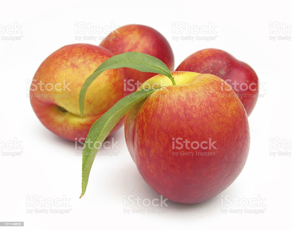 Nectarines perfect stock photo