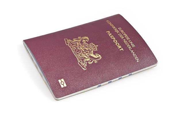Nederlands Paspoort Mit clipping path – Foto