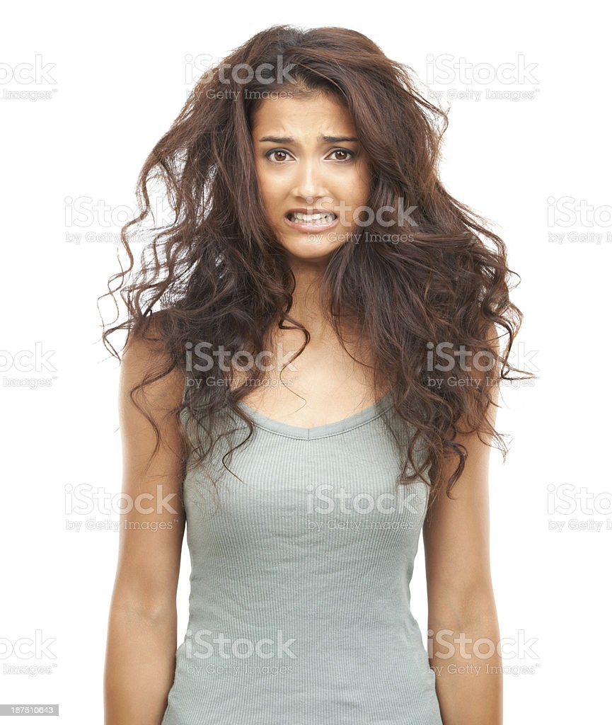 Need a hairdresser? stock photo