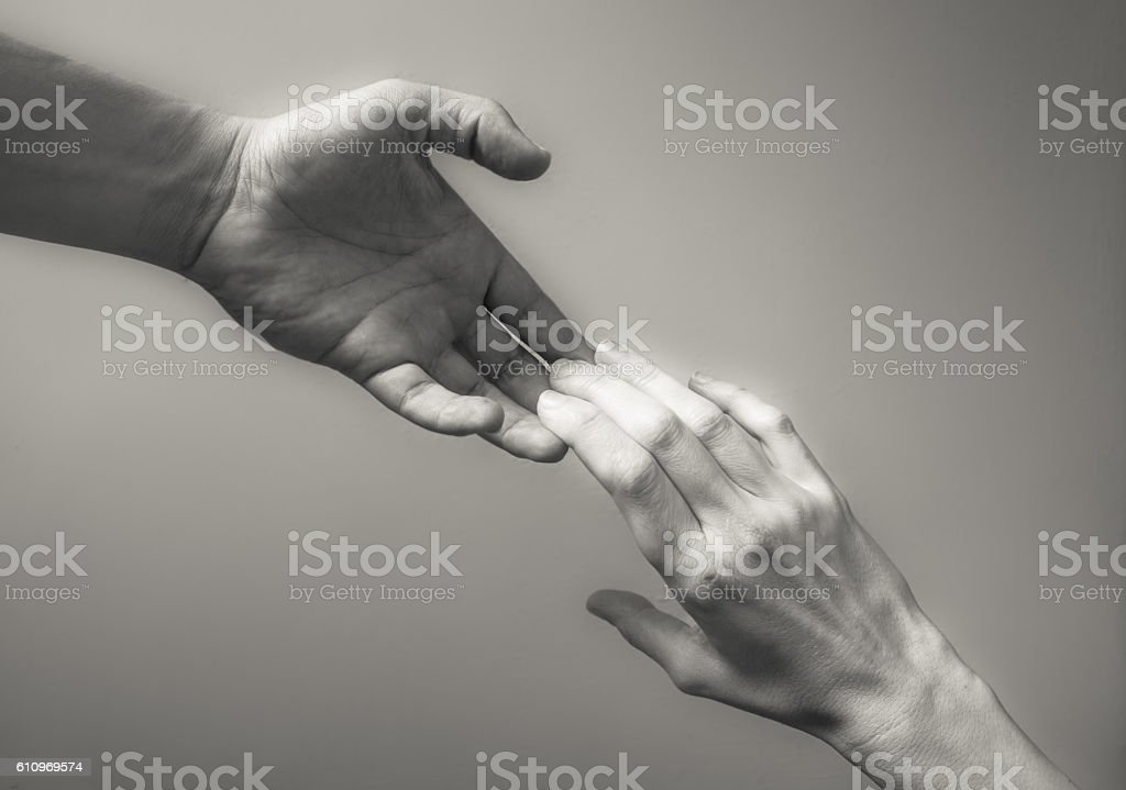 Need a help! stock photo