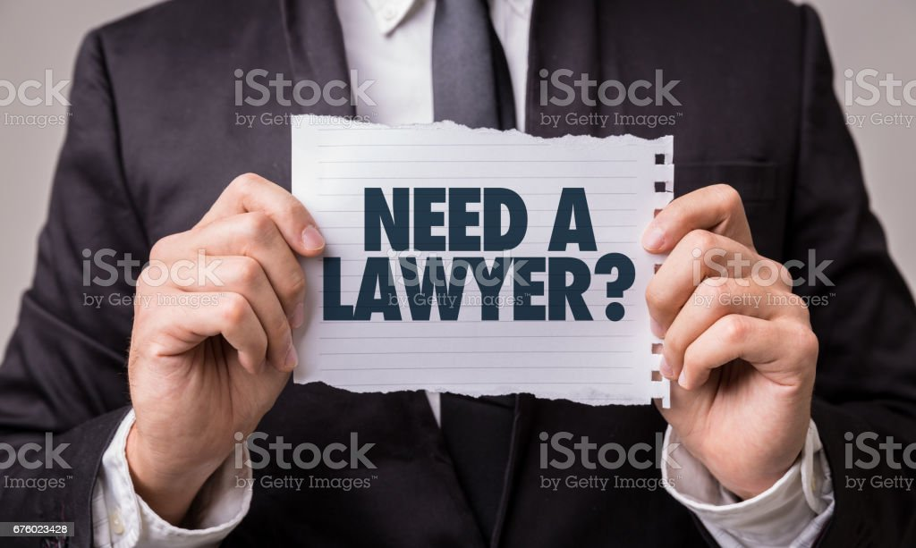 Need a Lawyer? stock photo
