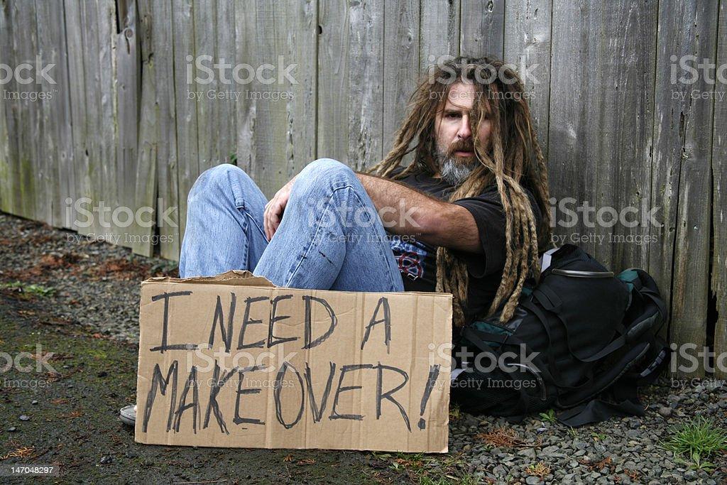 I Need a Makeover royalty-free stock photo