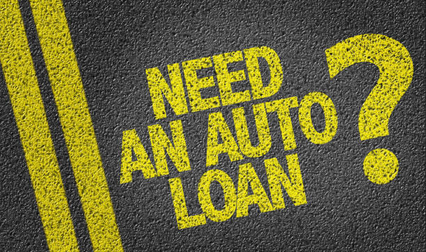 Need An Auto Loan? stock photo