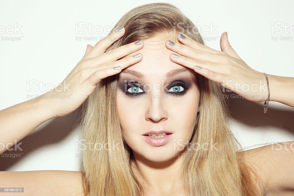 Need botox stock photo