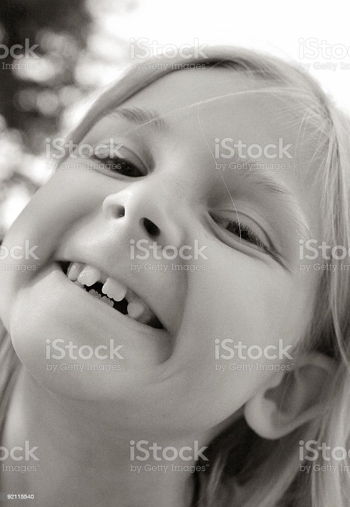 I need braces! royalty-free stock photo