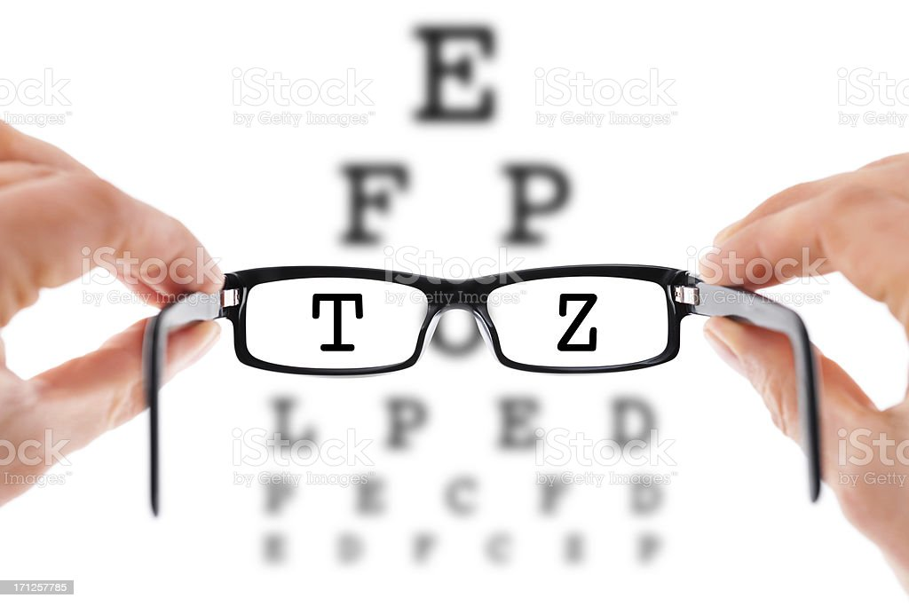 Need Glasses? royalty-free stock photo