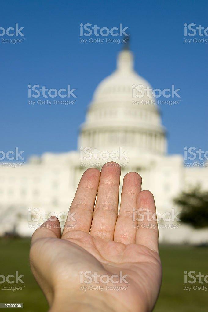 Need More from Washington royalty-free stock photo