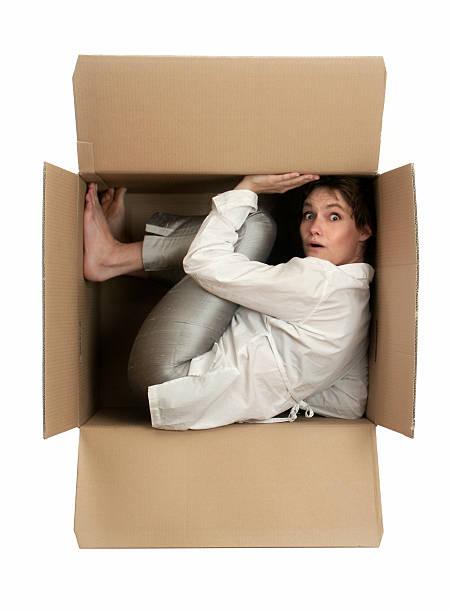 i need space!! - claustrofobie stockfoto's en -beelden