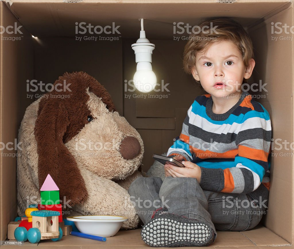 I need Space - Toddler in a Box stock photo