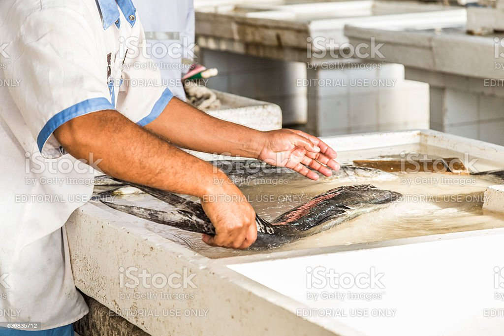I need to clean this quickly before customers arrive stock photo