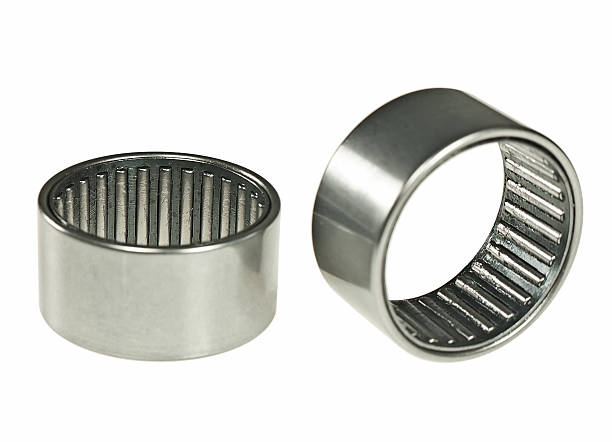 Needle bearing Needle bearing isolated on a white background ball bearing stock pictures, royalty-free photos & images