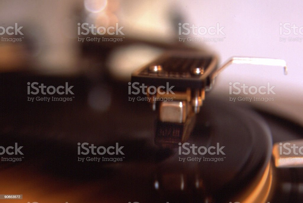Needle Down royalty-free stock photo