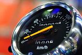 Engine, Equipment, Land Vehicle, Metal, Speedometer  Mode of Transport
