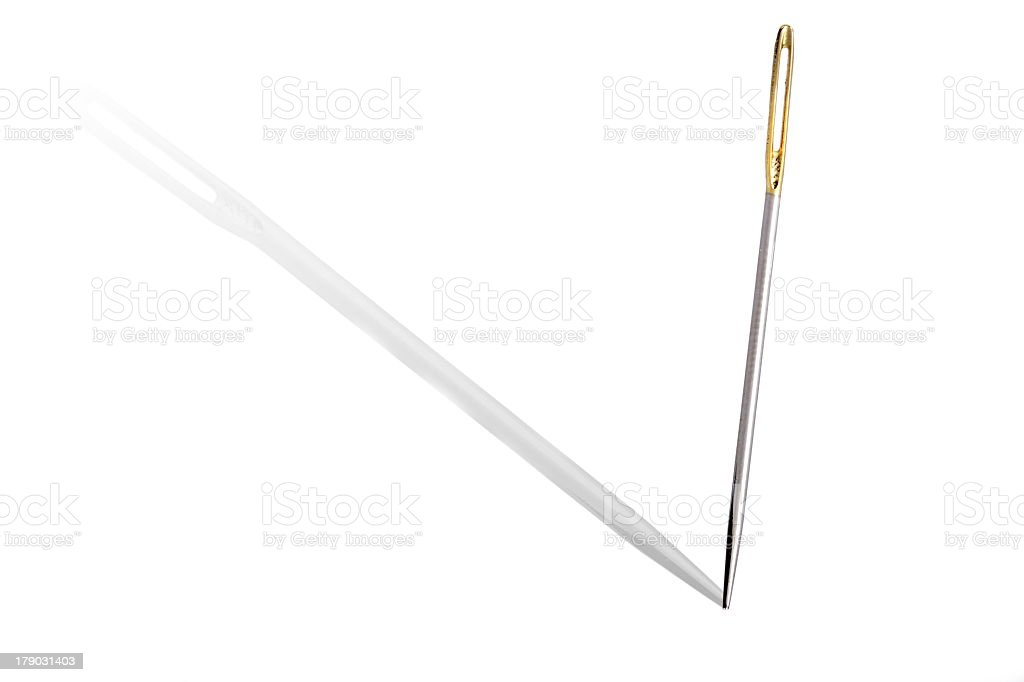 Needle stock photo