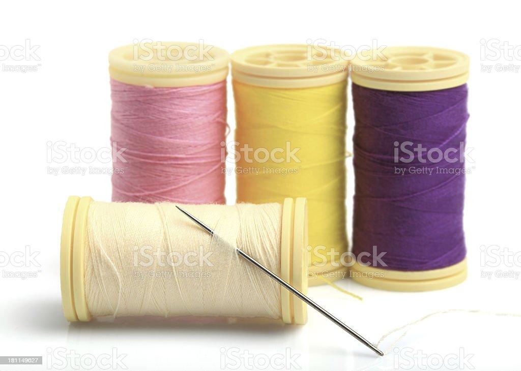 Needle, Spool royalty-free stock photo