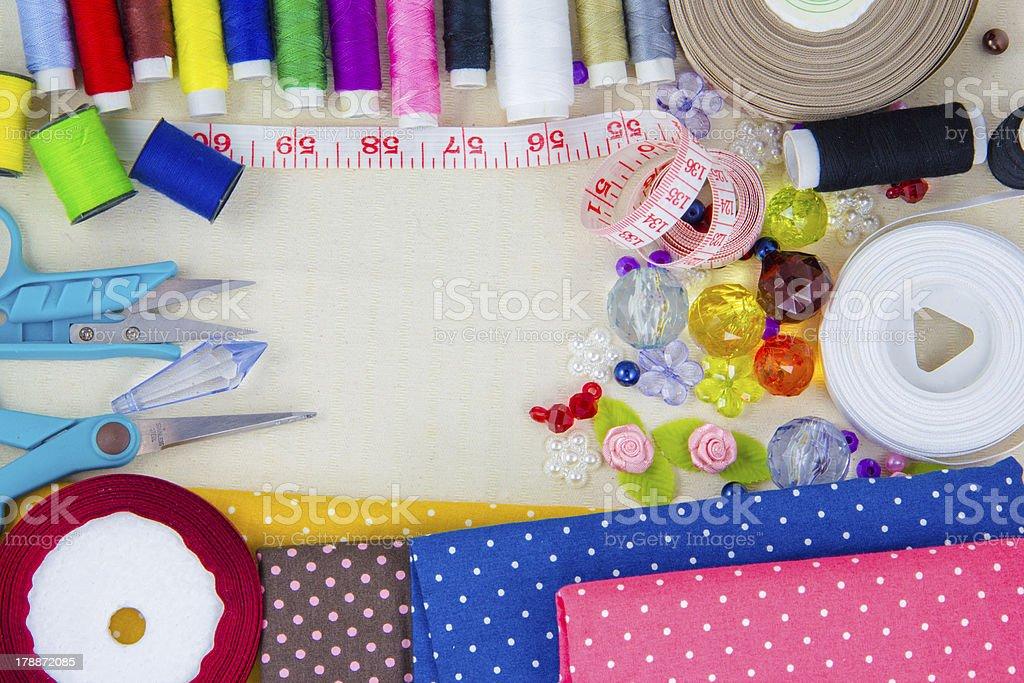 needle work royalty-free stock photo