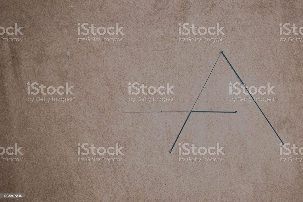 Nadeln, Dreieck – Foto
