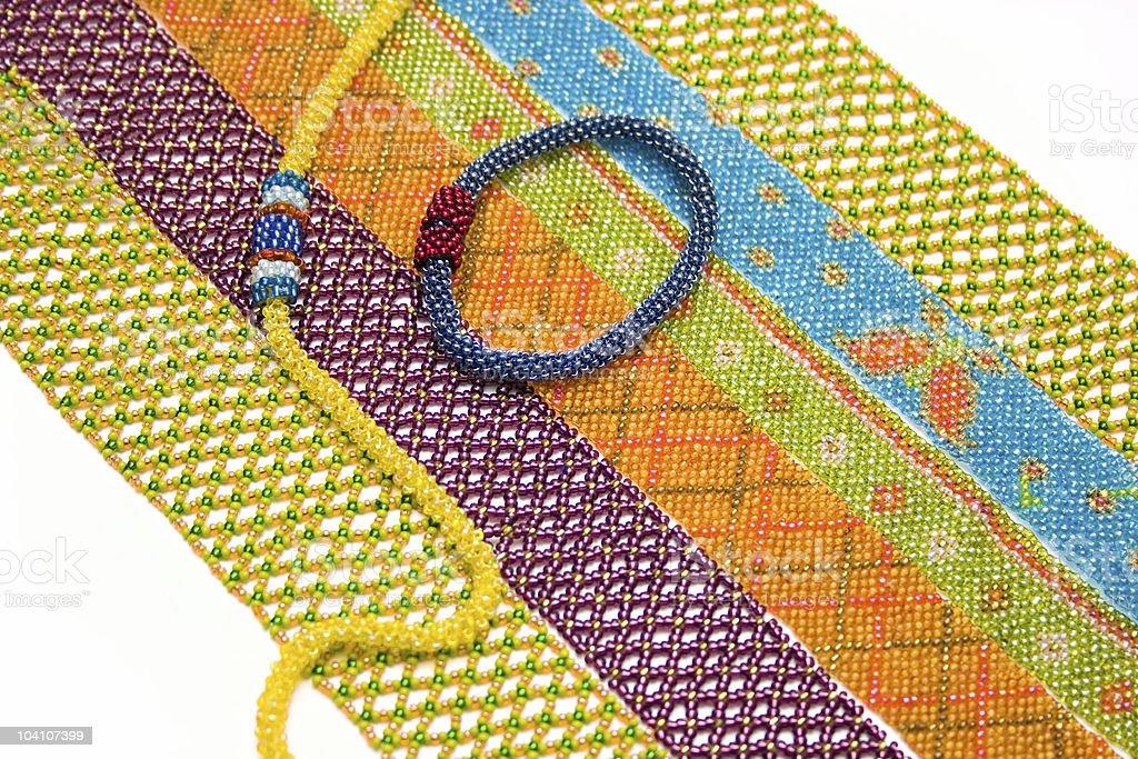 Needlework. royalty-free stock photo