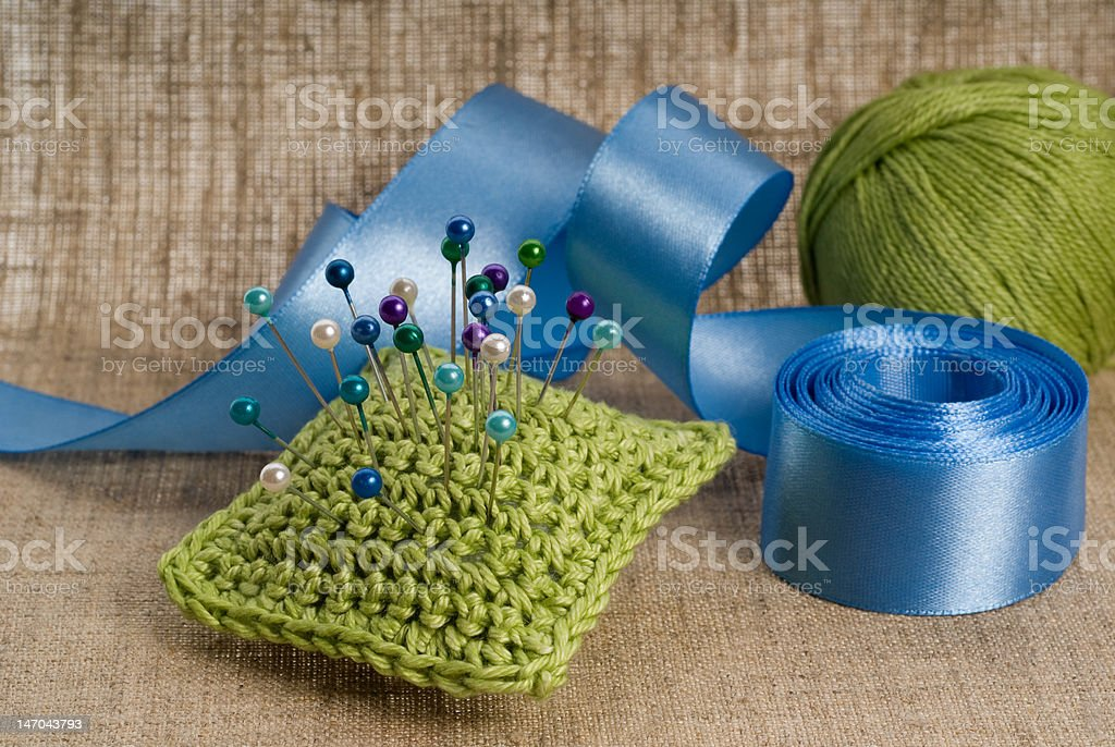 needlework royalty-free stock photo