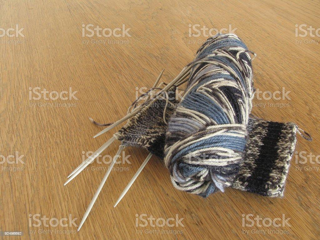 Needlework royalty-free stock photo