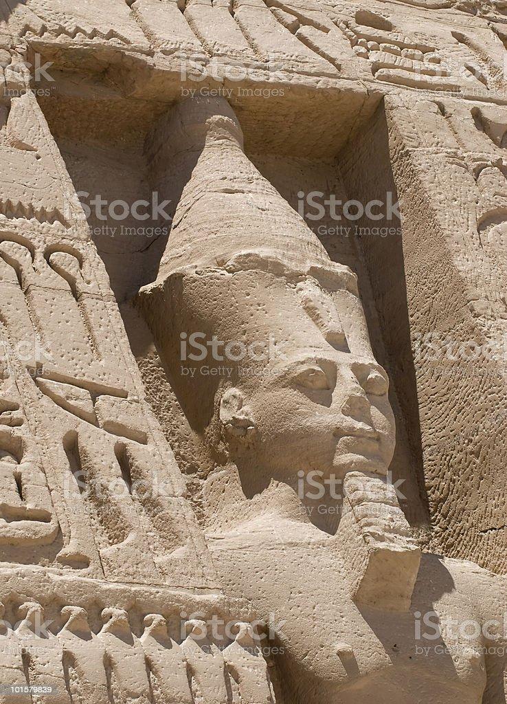 Nefertari  in Egypt royalty-free stock photo