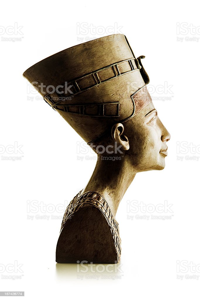 Nefertiti royalty-free stock photo