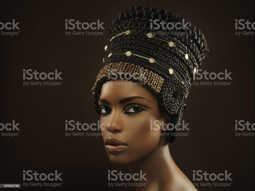Nefertiti royalty-free stock photo