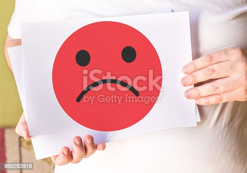istock negative emotion on white paper 865283918