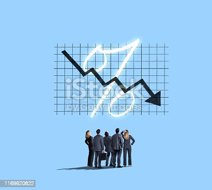istock Negative Interest Rates 1169620822